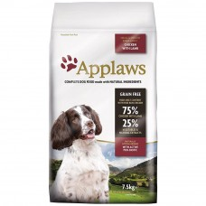 Applaws Adult Small/Medium Chicken and Lamb 2 x 7.5kg (15k