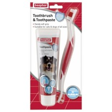 Beaphar Dental Toothbrush and Toothpaste