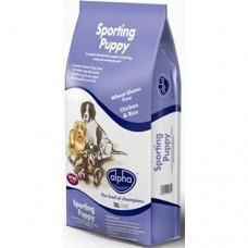 Alpha Sporting Puppy 15kg VAT FREE