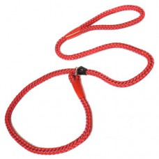 Ancol Rope Slip Lead Red 120cm