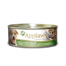 Applaws Cans Mackerel with Seaweed & Sweetcorn 16x156g