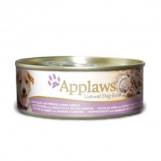 Applaws Cans Tuna Fillet with Prawns & Carrots 16x156g