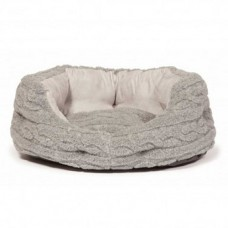 Danish Design Bobble Pewter Slumber Bed 18 Inch - 46cm
