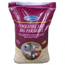 Johnston and Jeff Cockatiel and Big Parakeet 20kg