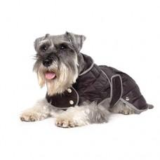 Ancol Black Extra Warm Diamond Quilt Coat - Small