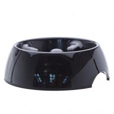 Dogit Go-Slow! Anti-Gulping Dog Dish - Black Large