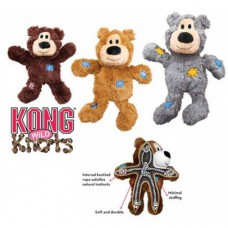 Kong Wild Knots Bears Plush Small/Med Assorted