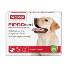 Beaphar FIPROtec Spot on Large Dog, 3 Flea Tick Treatment