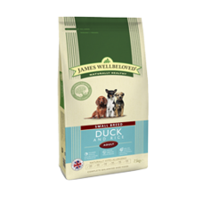 James Wellbeloved Adult - SMALL BREED Duck and Rice 1.5kg
