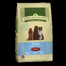 James Wellbeloved Adult - Ocean Fish and Rice 15kg