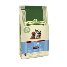 James Wellbeloved Adult - SMALL BREED Ocean Fish and Rice 1.5kg