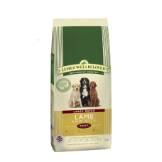 James Wellbeloved Adult - LARGE BREED Lamb & Rice 15kg