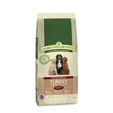 James Wellbeloved Adult - LARGE BREED Turkey and Rice 15Kg