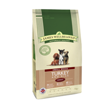 James Wellbeloved Adult - SMALL BREED Turkey and Rice 1.5kg