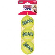 Kong Air Dog Tennis Balls Regular 2½ Inch, 3 Pack