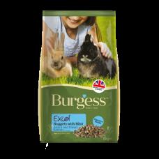 Burgess Excel Rabbit Junior and Dwarf Nuggets 4kg