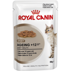 Royal Canin 12 x Ageing 12+ in Gravy Wet Food 85g