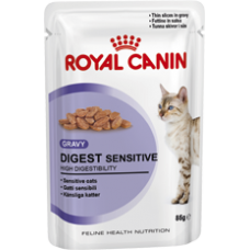 Royal Canin 12 x Digest Sensitive in Gravy Wet Food 85g