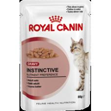 Royal Canin 12 x Instinctive in Gravy Wet Food 85g