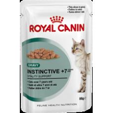Royal Canin 12 x Instinctive 7+ in Gravy 85g