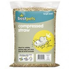 Bestpets Compressed Straw Large