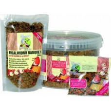 Supa Dried Mealworms 1000ml / 1L